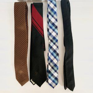 Other - LOT of 4 Slim to Skinny Neckties